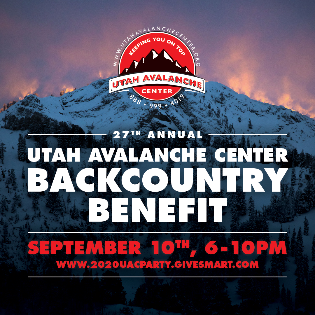 utah avalanche center backcountry benefit graphic