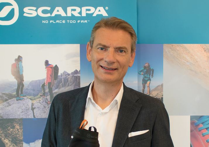 Diego Bolzonello, CEO of SCARPA